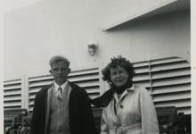Geëmigreerd, Alice Bloem en Cyriel De Bruycker op de boot richting Amerika, Sint-Lievens-Houtem