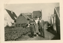 Voor bloemisterij Pieters, Melle, 1958