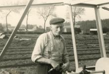 Bloemist Maxim Debersaques, Destelbergen, jaren 1950