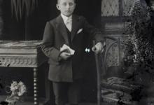 Staand portret, jongen, Pl.Communie, Melle, 1910-1920