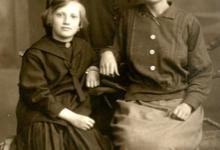 Hongaarse vluchteling Gisèle bij de familie Pycke, Bavegem, 1922-1923