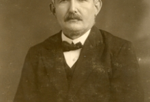 Portret boomkweker Jozef De Moor, Oosterzele, jaren 1930