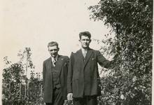Edmond en Richard De Moor, boomkwekers, Oosterzele, jaren 1930-1950