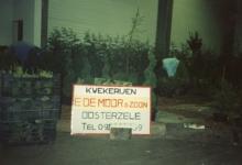 Opbouw boomkwekerij De Moor op Gentse Floraliën, jaren 1970