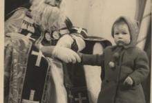 Op de foto met Sinterklaas