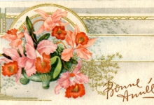 Bonne Année, Nieuwjaarskaart, jaren '60
