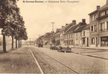 Marktplein, zicht naar het westen, Sint-Lievens-Houtem