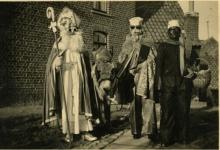 Sinterklaas op Den Dries, Sint-Lievens-Houtem, jaren '60