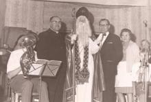 Sinterklaas op bezoek, Patronage, Sint-Lievens-Houtem, 1960-1970