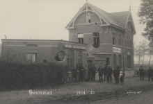 Kloeflederuitsnijderij, Melle, Kwatrecht, 1914