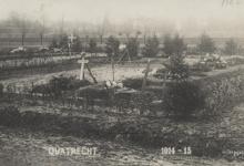 Duits kerkhof, Kwatrecht, Melle, 1914