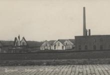 Fabriek van Pruisisch blauw, Kwatrecht, Melle, 1914-1915