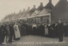 Werkmanswoningen, Brusselsesteenweg, Melle, 1914