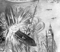 Zeppelin LZ37 en de crash boven Sint-Amandsberg