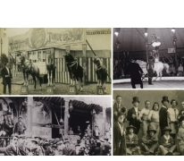 Circus tijdens Houtem Jaarmarkt