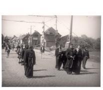 Livinus Jubelfeest, Mgr. Meulemanstraat, Sint-Lievens-Houtem, 1957