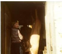 Schepen Bertrand Vrijens als 12-jarige op skireis in Ramsau, Oostenrijk, 1976