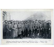 Groep marine soldaten, Melle, 1914