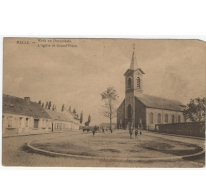Kerk en Dorpplaats, Melle