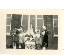 Groepsfoto schoolfeest, Ankerschool, Oosterzele