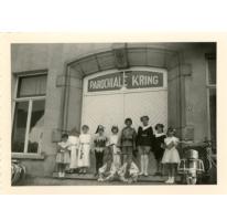Schoolfeest van de Ankerschool, Oosterzele, 1961