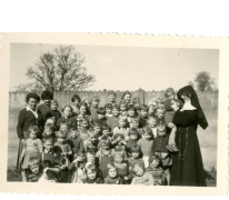 Schoolfoto op het schoolfeest, Ankerschool, Oosterzele