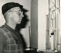 Robert Waeytens, stokerij Van Damme, Balegem, ca. 1978