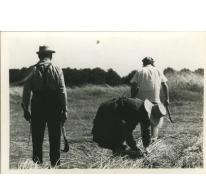 "Bliki Césaer, Marguerite Van Hecke en André Van Hecke , opnames ""Ouden Balegemsen"" (van Roger Van Brakel), 1978"