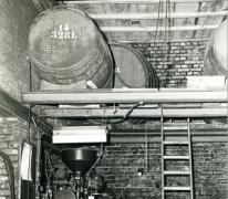 Flessenvulmachine, stokerij Van Damme, Balegem,1978