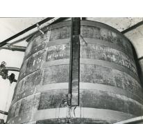 Grote tank, stokerij Van Damme, Balegem, 1978