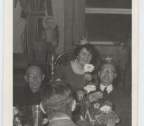 Souper 'Kijkers zijn zwijgers', Merelbeke, 1962