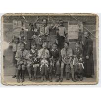 Kinderen met hun poppen, Merelbeke