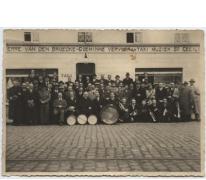 Groepsfoto Harmonie Sint-Cecilia, Merelbeke