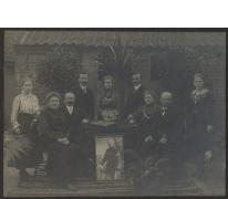 Familieportret Aloiske Reunes, Merelbeke