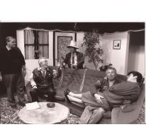 Scène uit 'De dubbele dubbelganger', Sint-Lievens-Houtem, 1990