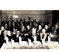 Feest in café Drie Koningen, Merelbeke