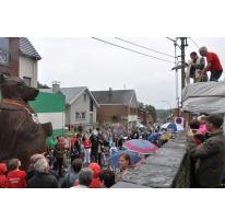 Doop van berenreus Maarten, Sint-Lievens-Houtem, 2012