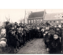 Trouw van 'Tiste Kuipe', Sint-Lievens-Houtem, Letterhoutem, 1927