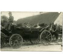 Leden van het koningshuis (?), viering 100 jaar België, Munte, 1930