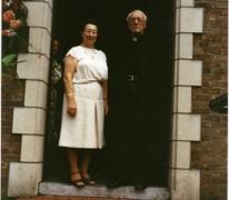 Pastoor Neels en Irena Cnudde, Munte