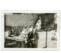Reuzenfeest in Munte, 1958