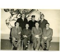 Gemeenteraad van Munte, jaren 1960