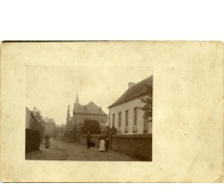 Zicht op de Torrekensstraat, Munte