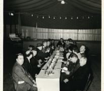 Handelsbeurs, feestdis, Sint-Lievens-Houtem, 1966.