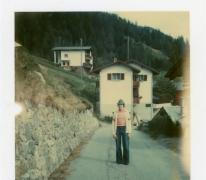 Gemeenteraadslid Dr. Pascal Fermon op reis in Zwitserland, 1975