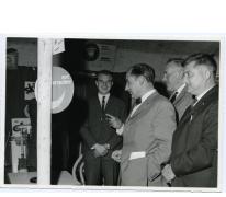 Handelsbeurs rondleiding, 1967.