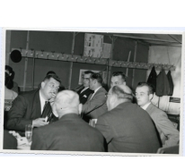 Handelsbeurs feestdis, Sint-Lievens-Houtem, 1967.