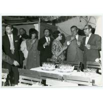 Handelsbeurs receptie, 1969.