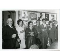 Handelsbeurs toehoorders, 1969.