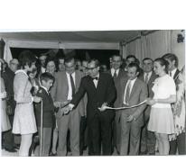 Handelsbeurs, plechtige opening van de handelsbeurs, 1970.